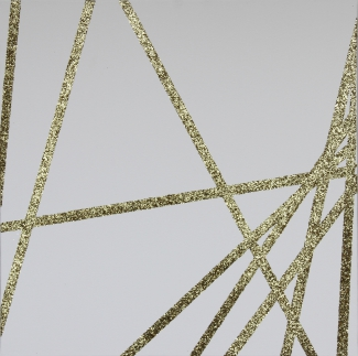 The Gold Francois Morellet Dix lignes au hasard