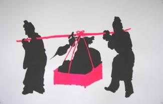 Duochrome Chen Hougzou  Poussière-Rose fluo