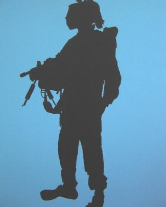 Duochrome Rineke Dijkstra  Erez Golani Brigade Elyaqim Israel May 26 1999