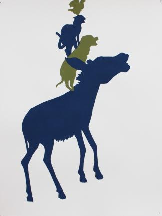 Libérez les animaux de l'art contemporain Maurizio Cattelan I