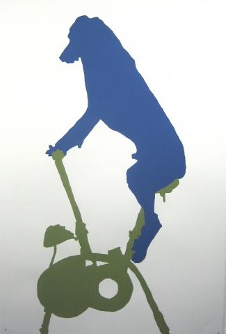 Libérez les animaux de l'art contemporain William Wegman III