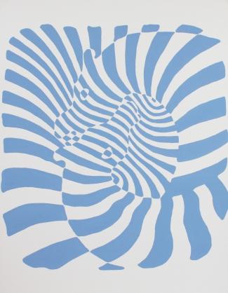 Libérez les animaux de l'art Victor Vasarely