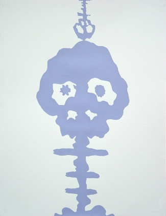 Monochrome Takashi Murakami  Lavande