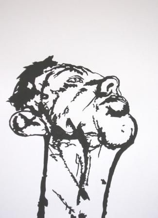 Monochrome Tony Bevan  Gris foncé