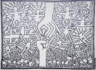 The dark side of Keith Haring