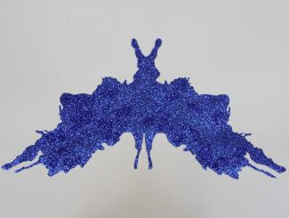 Blue glitter Psychodiagnostik II