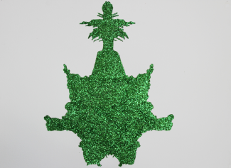 Green glitter Psychodiagnostik I