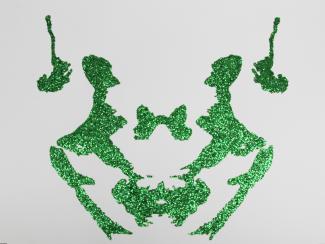 Green glitter Psychodiagnostik II