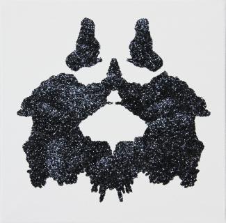 pascal lievre psychodiagnostik noir sur toile VIII