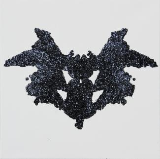 pascal lievre psychodiagnostik noir sur toile X