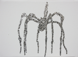 pascal lievre the silver spiderwoman louise bourgeois 2011