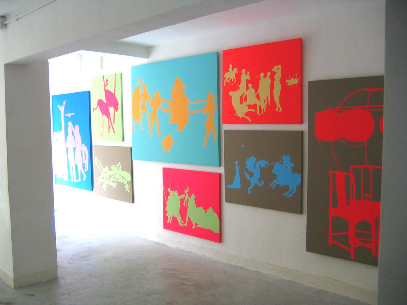 Vue de l'exposition chinese shadows 09