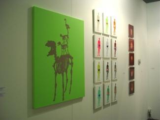 pascal lievre 2004 vue exposition artissima artfair
