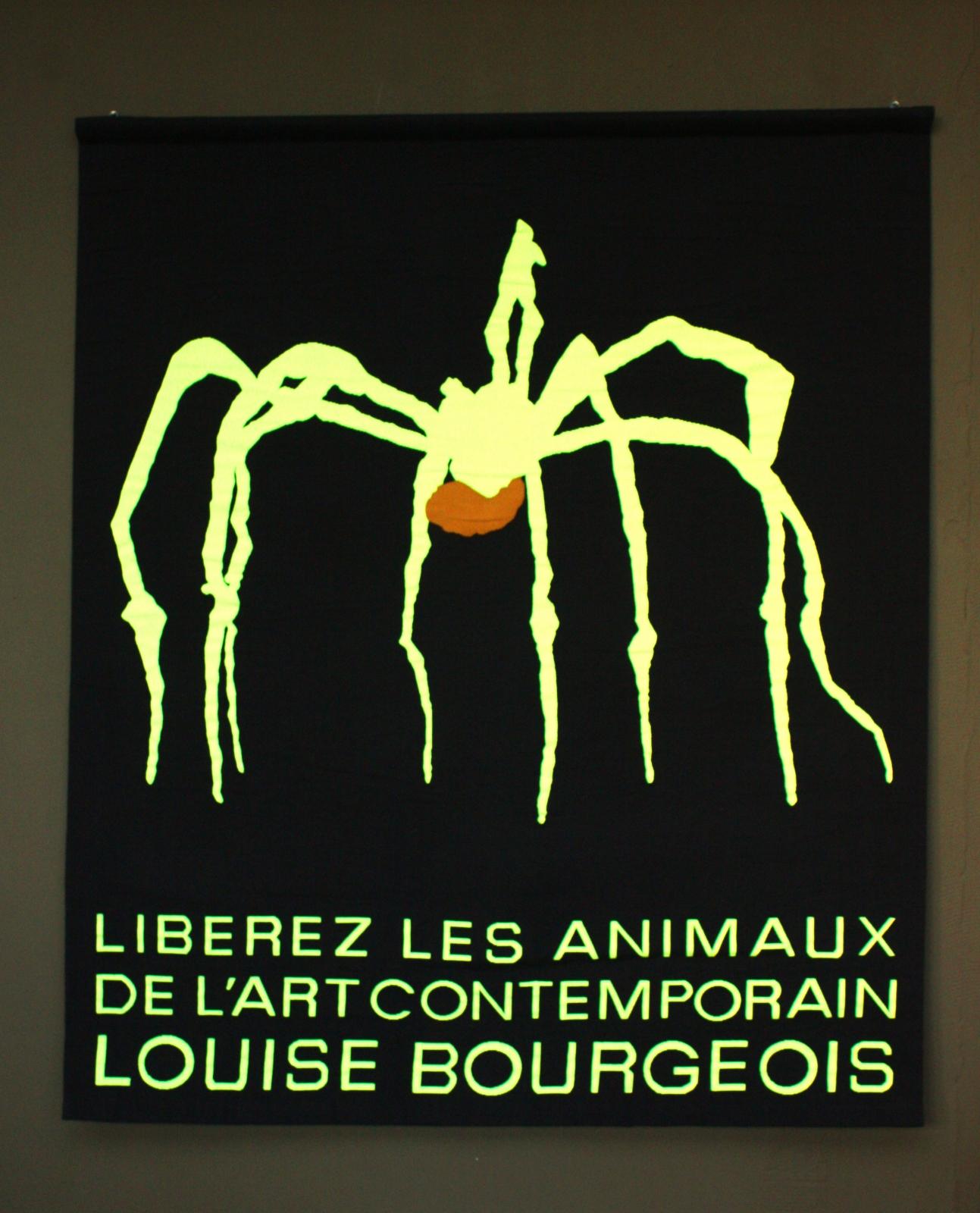 Liberez les animaux de l'art contemporain tapisserie aubusson 01