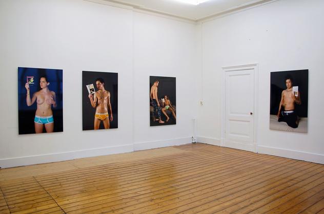 je bande pour la philosophie pascal lievre flatland gallery 2008 01